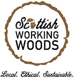 Scottish Working Woods Label logo